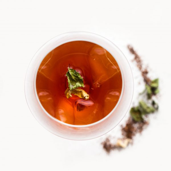 Ginger Rooibos Tea Nilufer Organic Herbs