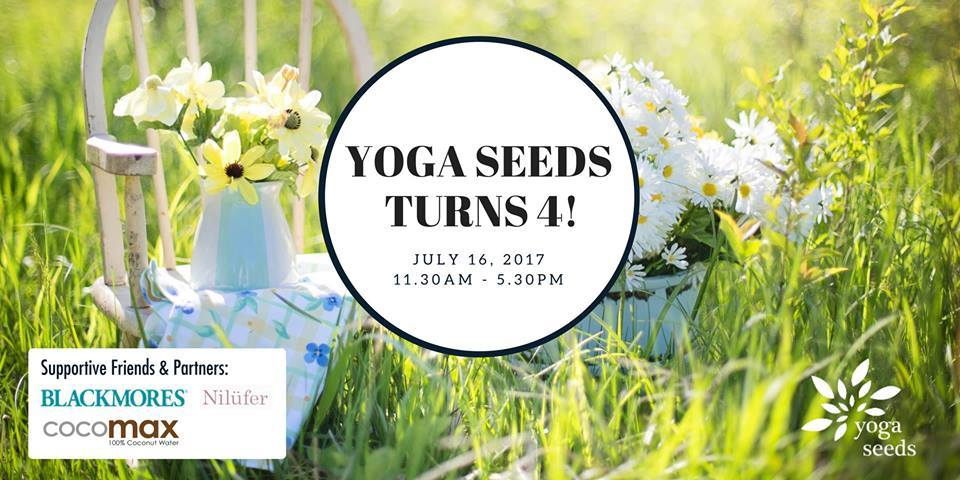 Nilufer Tea celebrates Yoga Seeds' 4th Anniversary