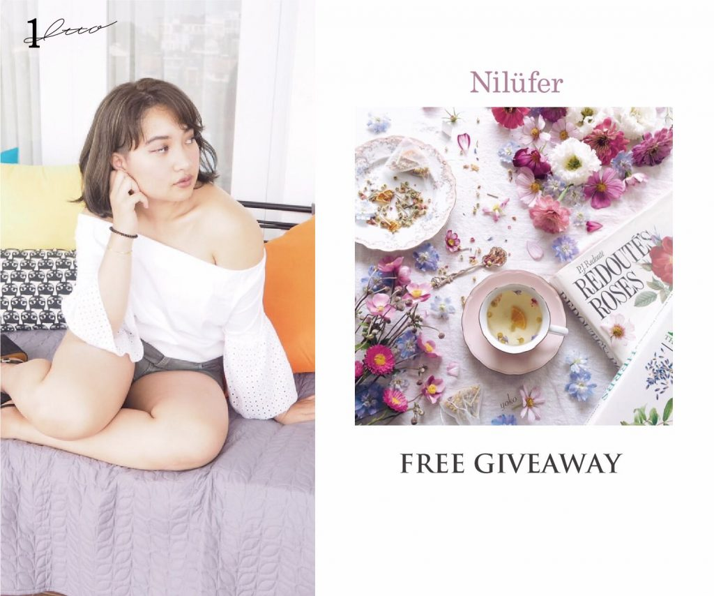 Get a free Nilufer Tea gift set when you get your hair done at 1tto and LIM today!