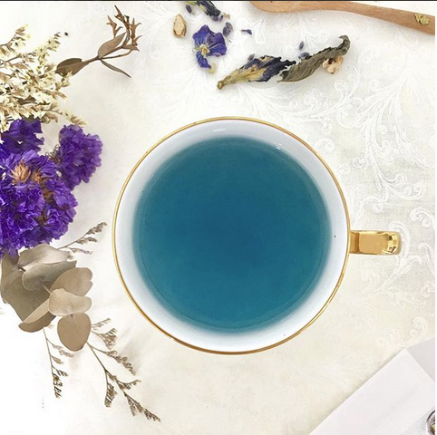 Blue Tea Nilufer Tea Organic Non Pesticide