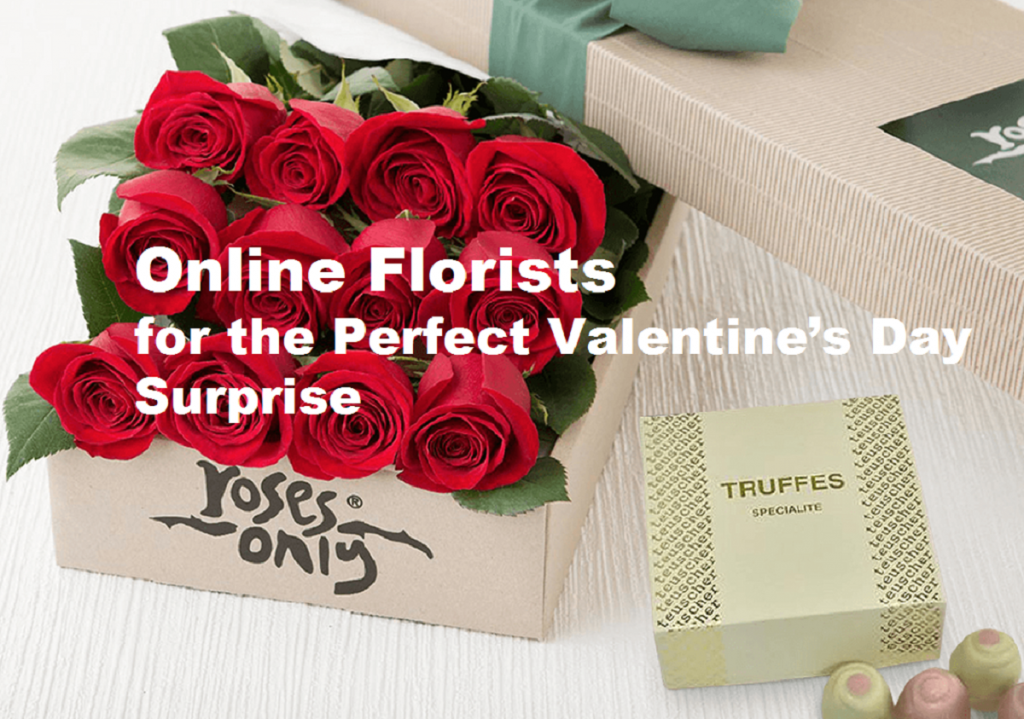 Online Florists for the Perfect Valentine's Day Surprise