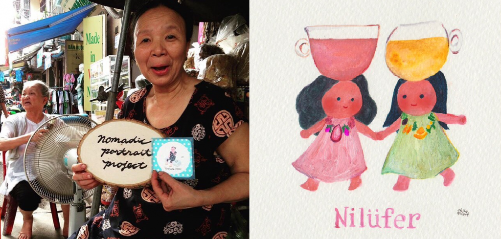 Interview with Chiho, Portraiture Artist who Makes Everyone Smile