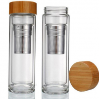 Glass tea infuser Nilufer Tea 01