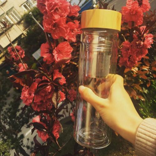 Glass tea infuser Nilufer Tea 02